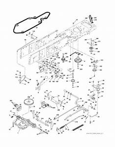 Mcculloch M13592rb  96061010104  Ride On Mower Drive Spare