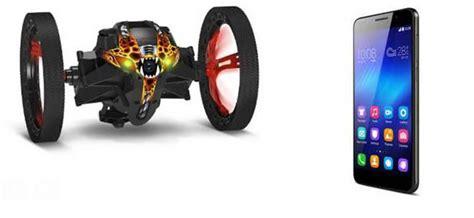 parrot  honor lancent en partenariat  package drone smartphone