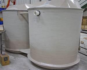 Fiberglass Quadplex Dosing Tank By Aero
