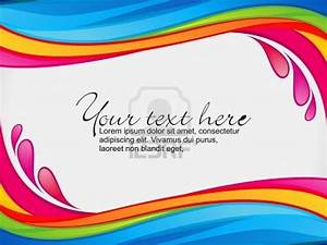 abstract-colorful-rainbow-color-splash-border-vector ...