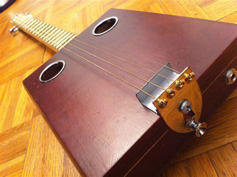string bild build an inexpensive cigar box guitar at home