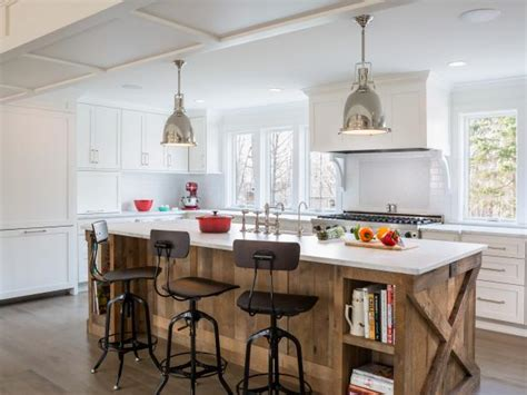 kitchen island reclaimed wood photo page hgtv 5142