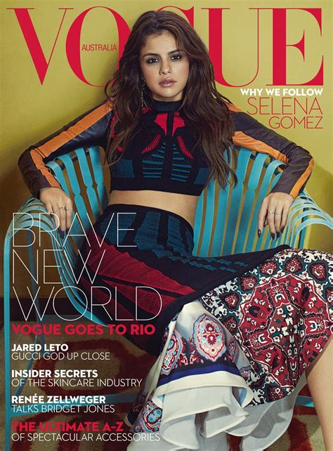 Selena Gomez Vogue Magazine Australia September 2016