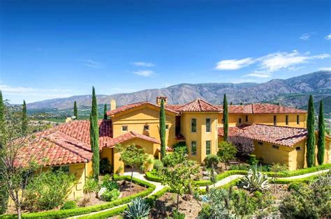 5 Luxurious Mediterranean-style Homes For Sale In California