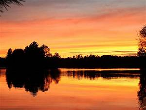 Sunset View Lake Home On Lake Mohawksin  Sand Frontage