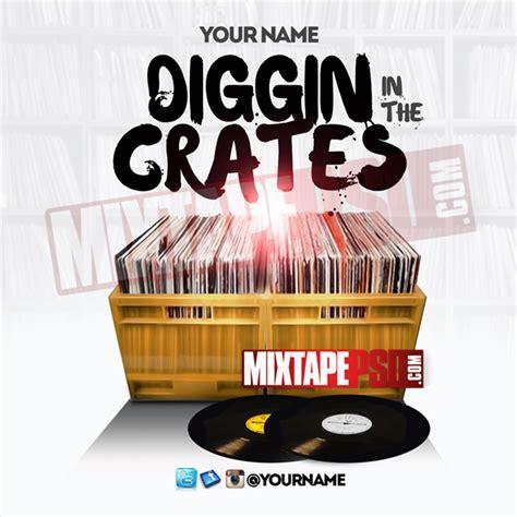 free mixtape templates mixtape template diggin in the crates mixtapepsd
