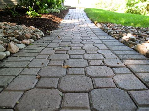 Keystone Brick Pavers by Keystone Paver Walkway Outdoors Paver Walkway Front