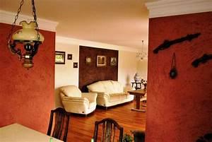 Wandfarben Brauntöne Wohnzimmer : wohnideen wandgestaltung maler mediterrane wohn und wandgestaltungen in wiesbaden und frankfurt ~ Markanthonyermac.com Haus und Dekorationen