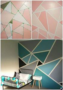12 DIY Patterned Wall Painting Ideas and Techniques Wall