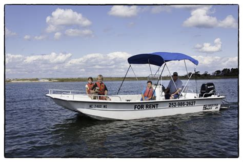 Boats For Rent In Nc by Boat Rentals