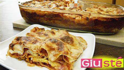 cuisine sicilienne recette de lasagnes à la sicilienne giusté cuisine