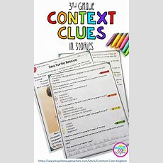 17 Best Ideas About Context Clues On Pinterest  Context Clues Activity, Inference And Reading