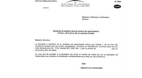 bureau de notaire demande du bénéfice de la procédure de régularisation