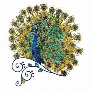Swnpa131, Peacock, Embroidery, Design