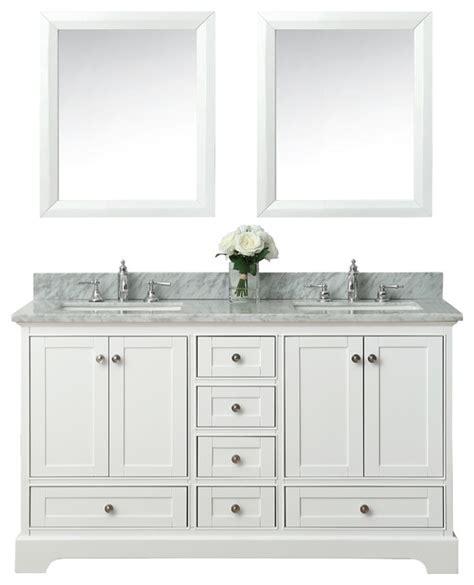 transitional bathroom vanity cabinets audrey bath vanity set white transitional bathroom