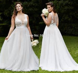 vintage wedding dresses plus size aliexpress buy plus size lace wedding dresses vintage bridal gowns with
