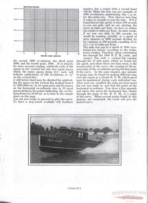 Chris Craft Boats Book by 1929 Chris Craft Care And Operation Book Classic Boat