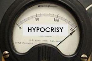Image result for hypocrisy