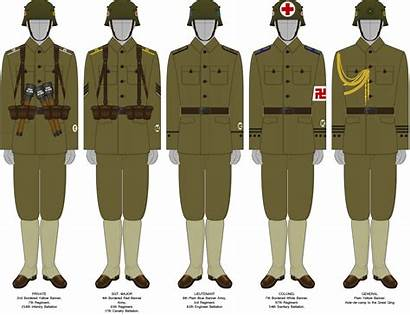 Qing Army Uniforms Dynasty Deviantart Field Favourites