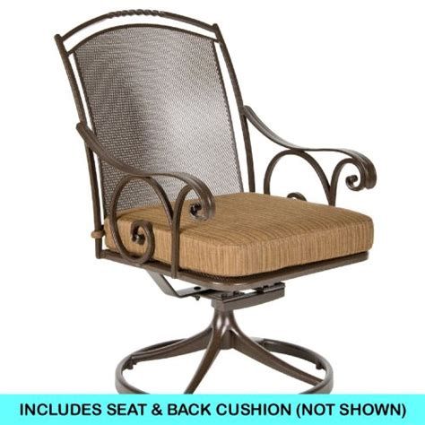 Chromcraft Chair Cushion Replacements by Ow Replacement Cushions Dining Swivel Rocker Chair