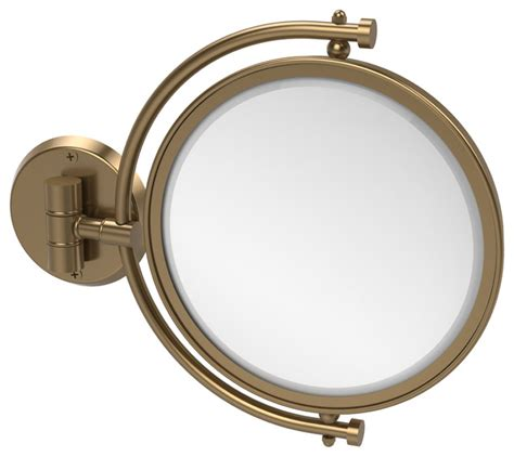 8 quot wall mounted make up mirror transitional makeup