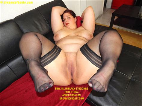 Bbw Jill In Black Stockings Part 2 Final Added Today On