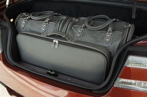 aston martin cabria carsuitcases  luggage