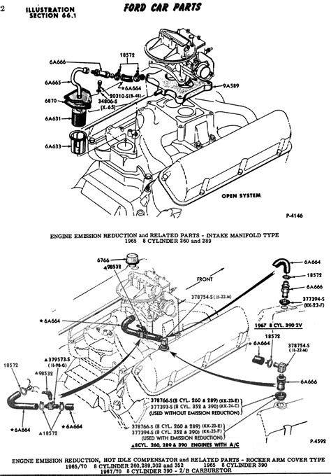 1986 302 Engine Wiring Diagram by Ford 6v Tech Ford 6v Carburetion Systems