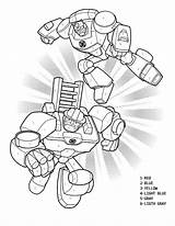 Bots Rescue Transformers Coloring Pages Numbers Sheet Number Printable Activity Colouring Birthday Print Transformer Heatwave Bumblebee Sheets Optimus Prime Chase sketch template