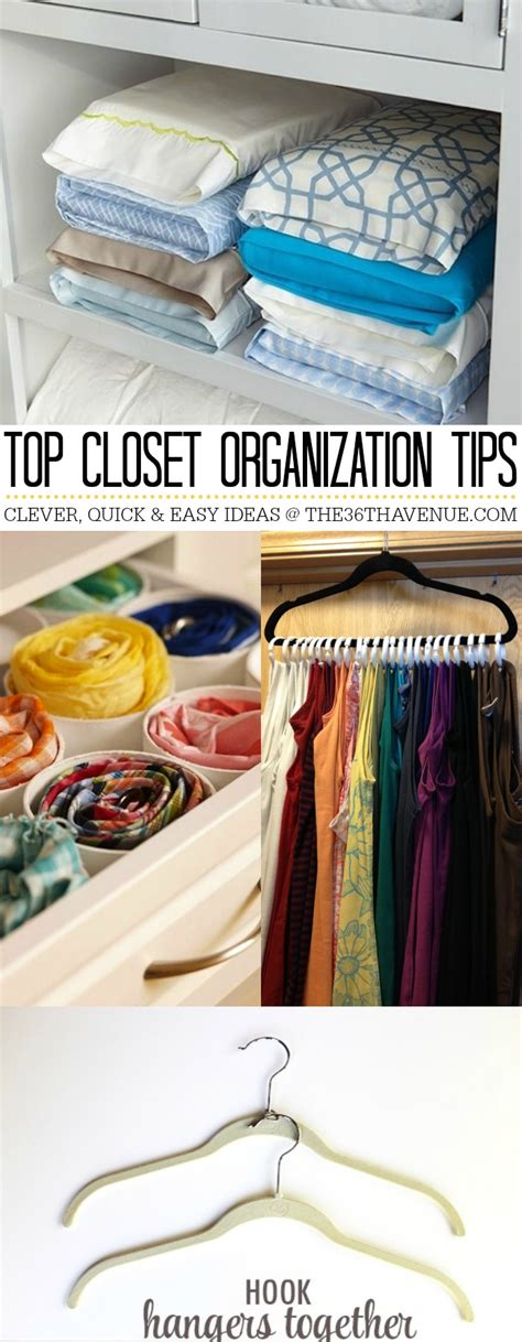 Closet Organization Tips by Top 10 Closet Organization Ideas The 36th Avenue