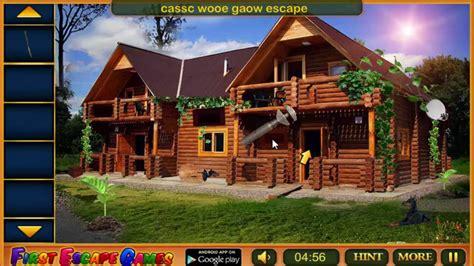Classic Wooden Bungalow Escape Walkthrough .