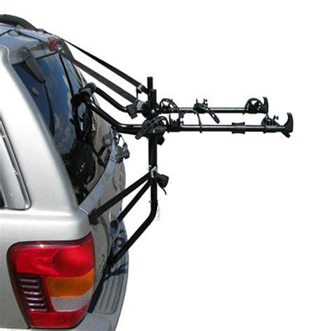 bike racks for suvs 3 bike trunk mount suv carrier rack hatchback racks ebay