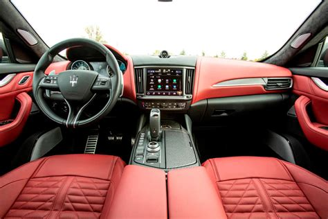 The small series, limited to ten vehicles (and. 2021 Maserati Levante Trofeo Interior Photos   CarBuzz