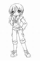 Tomboy Coloring Manga Deviantart Lineart Hotaru Anime Chibi Sureya Coloriage Sakamoto Fairy Adult Drawings Character Ink Crafts Easy Peach Fuer sketch template