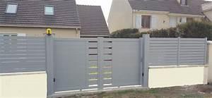 Portail Electrique Battant : portail lectrique portillon avec g che lectrique et ~ Melissatoandfro.com Idées de Décoration