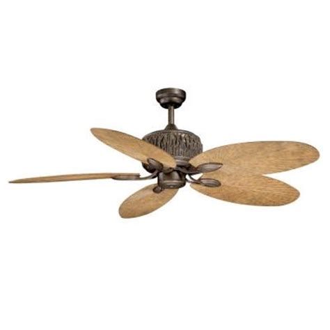 36 inch ceiling fans home depot aireryder aspen 52 in weathered patina indoor outdoor