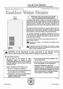 Rheem Tankless Water Heater Wiring Diagram