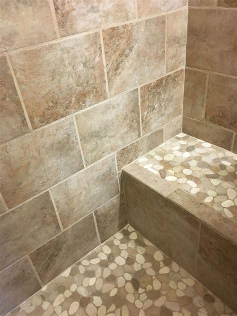 548 best bathroom pebble tile and stone tile ideas images