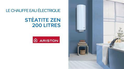 chauffe eau 233 lectrique st 233 atite 200 litres zen evo ariston castorama