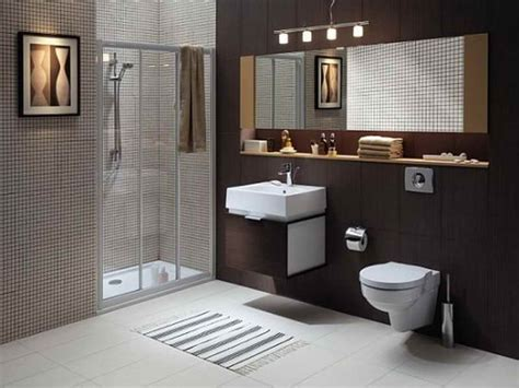 Bloombety  Brown Best Color Schemes For Bathrooms Best