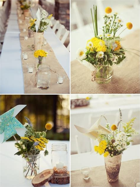 the secrets to rustic do it yourself wedding flowers