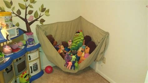 Animal Hammock by Stuffed Animal Hammock Made Out Of A Size Fitted