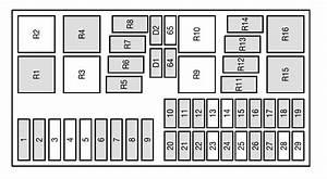 Ford Focus Mk1 Fuse Box Diagram 41917 Desamis It