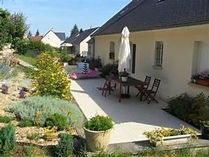 deco jardin terrasse meilleures images d39inspiration With amenagement petit jardin avec terrasse 13 personnaliser une credence