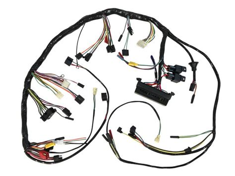 1968 Mustang Wiring Harnes by 1968 Mustang Dash Wire Harness With Premium Fuse Box
