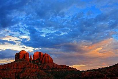 Arizona Sunset Sunsets Sedona Rock Cathedral Koopsen