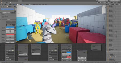 The game engine was written from scratch in c++ as a mostly independent component, and includes support for features such as python. Armory 0.4 is out and free! - Releases - Armory 3D