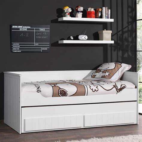 canap lit tiroir lit banquette laque blanc avec tiroirs robinson zd1 l e