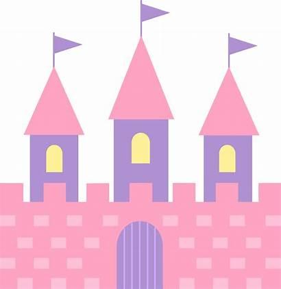 Castle Clipart Clip Princess Pink Clipartion