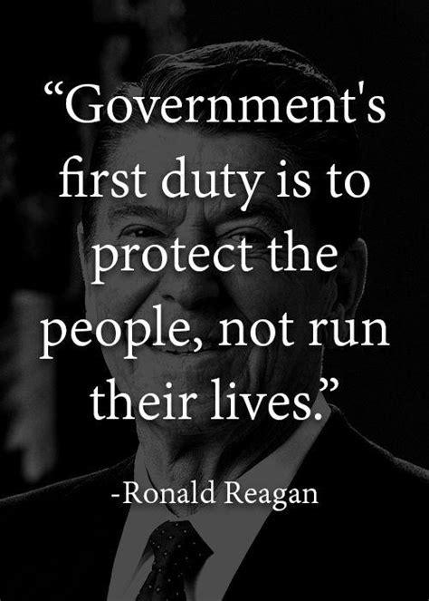governments  duty   protect  people  run